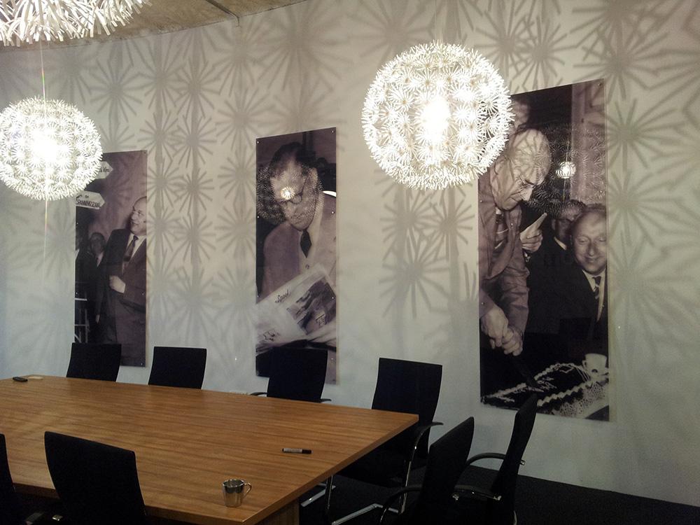 Boardroom Spinnerij Oosterveld plexiglas platen